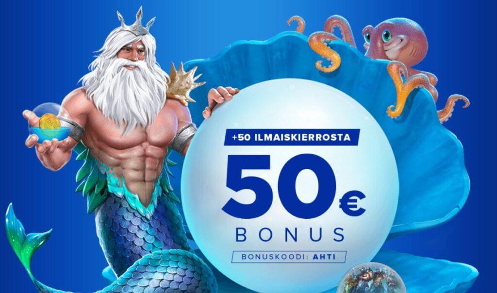 Ahti Games bonus