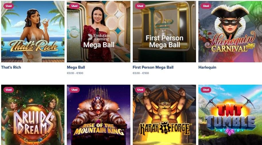 igame kasinon uudet pelit