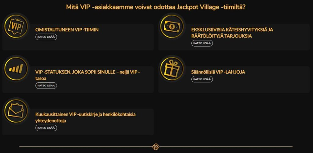 Jackpot Villagen VIP