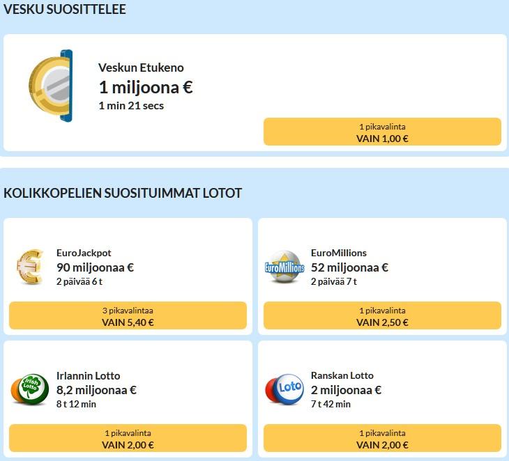 kolikkopelit.com lotto+ ja keno