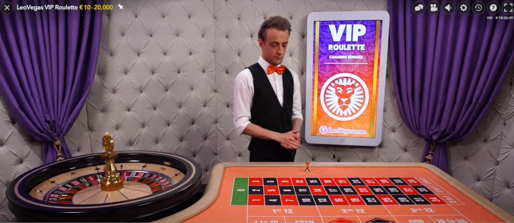 Leo Vegas rulettipöytä