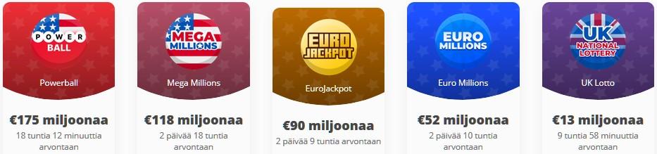 lotto netissä lottopelit