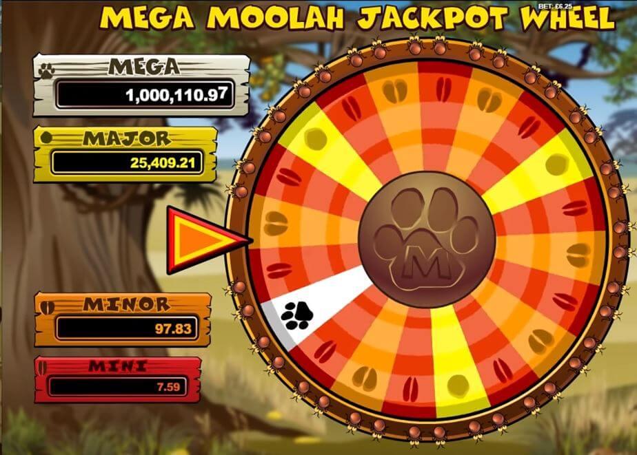 Mega Moolah bonuspeli