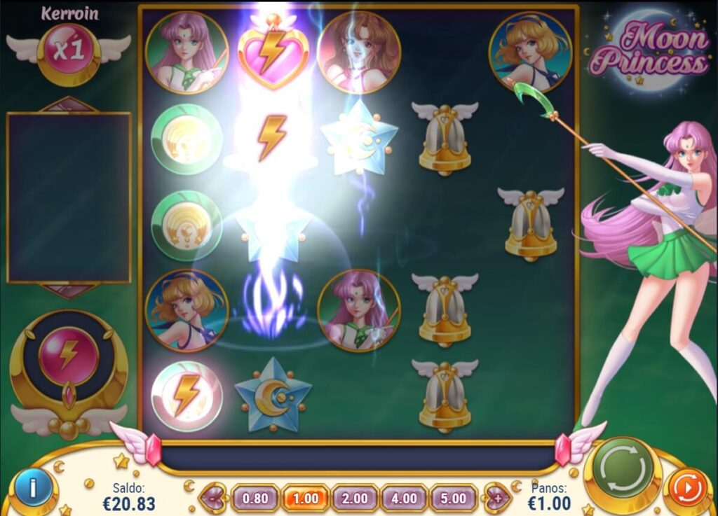 Moon princess kolikkopeli