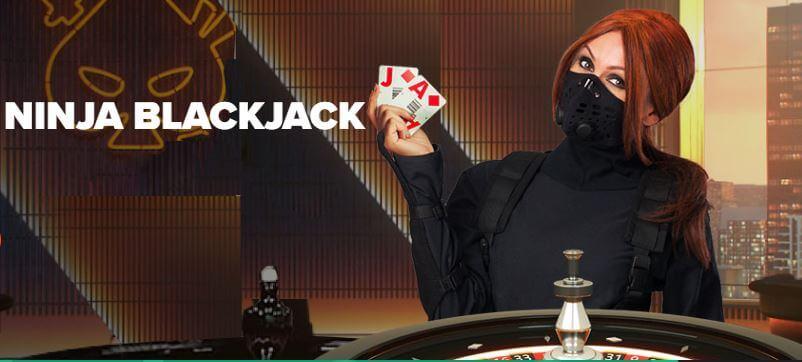 Ninja livekasinon blackjack
