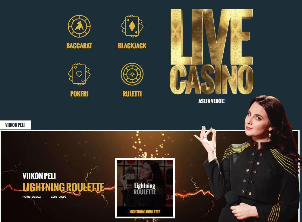 No Account Casino livekasino