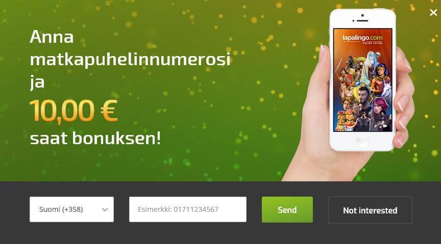 nettikasino ilmaista rahaa ilman talletusta