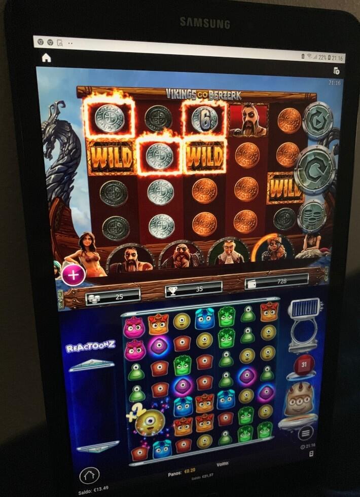 tabletti pelaaminen leo vegas kasinolla