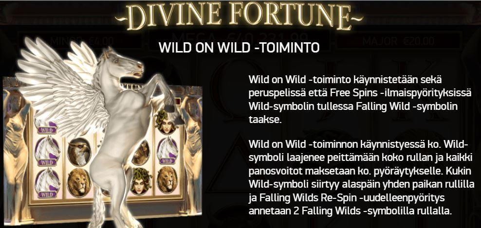 veikkauksen jackpot peli divine fortune