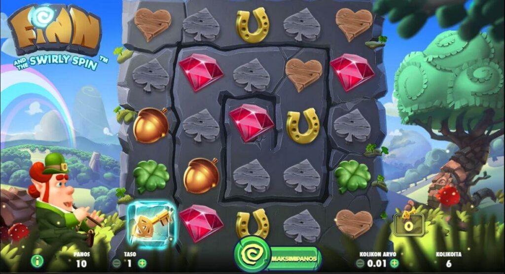 netent finn swirly spin kolikkopeli