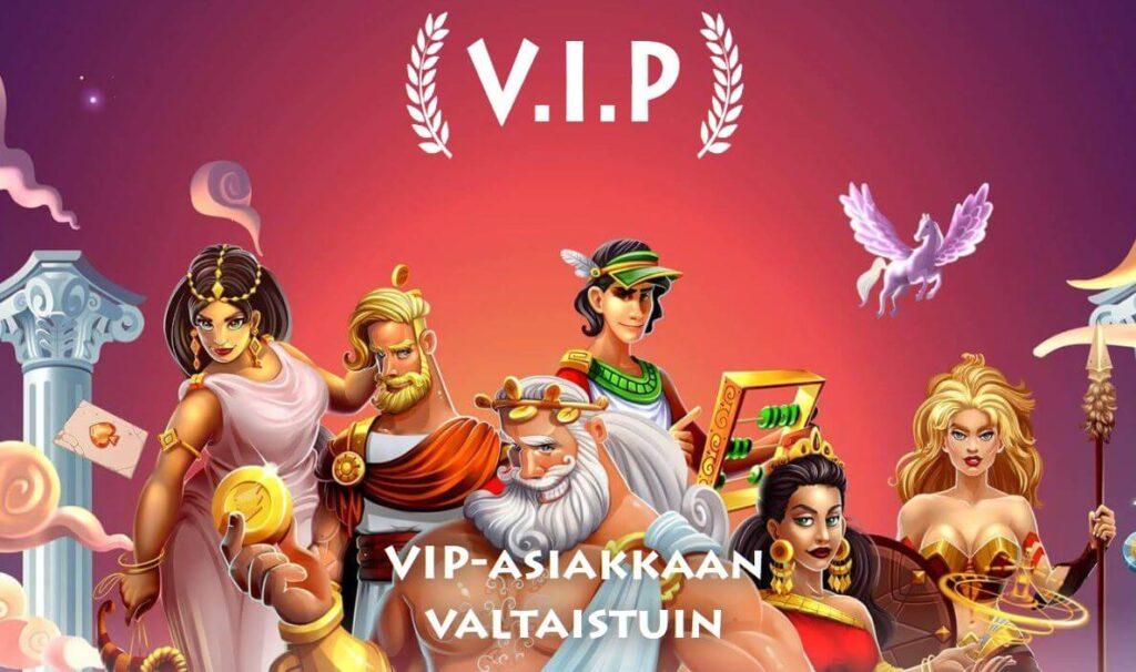 VIP ohjelma casino godzilla