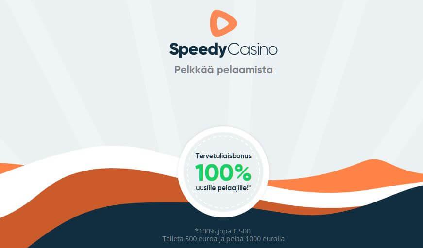 speedy casino bonus nyt 100%
