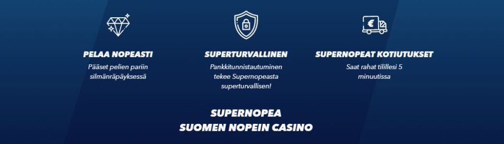 supernopea kasino kokemuksia