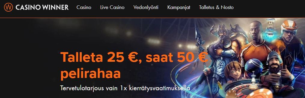 Winspark casino bonus