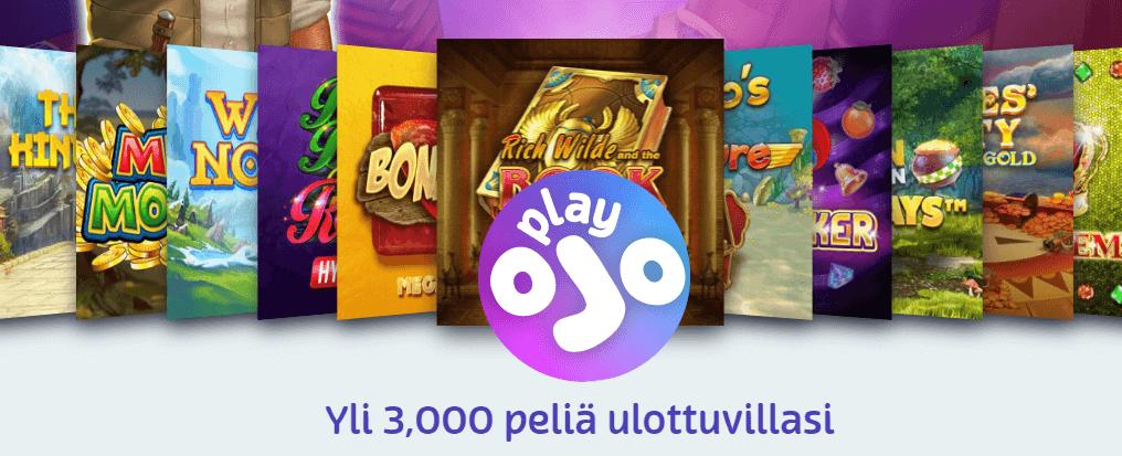 play ojo kasino kokemuksia