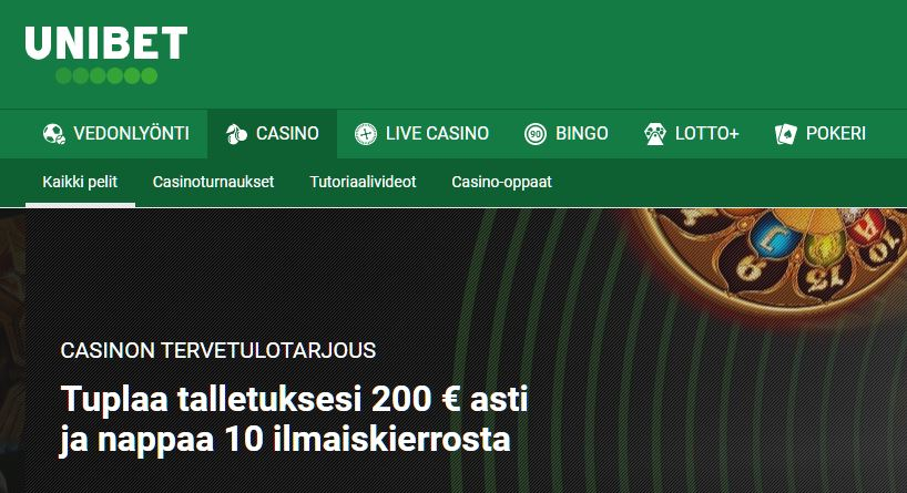 unibet suomi casino