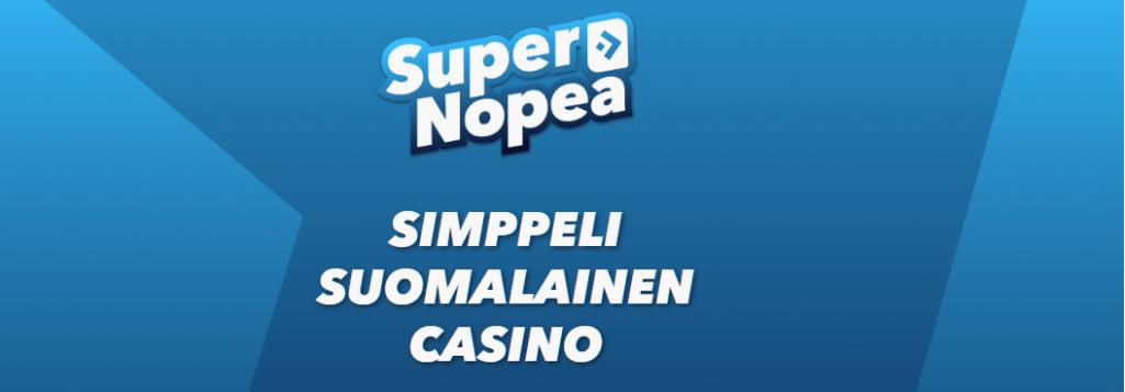 supernopea casino kokemuksia
