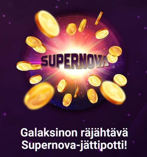 galaksino kasinon supernova jättipotti