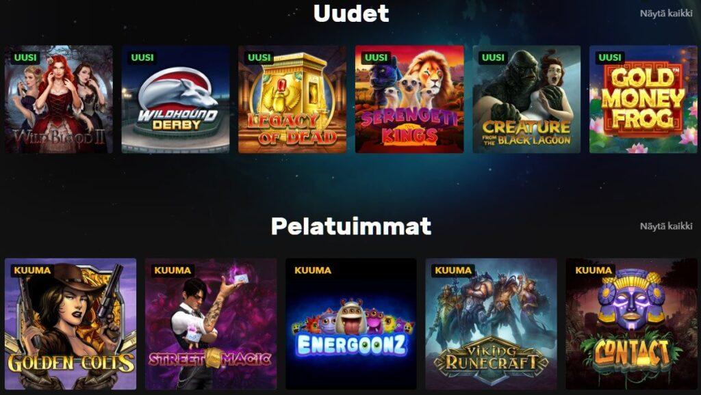 rocket casino pelit