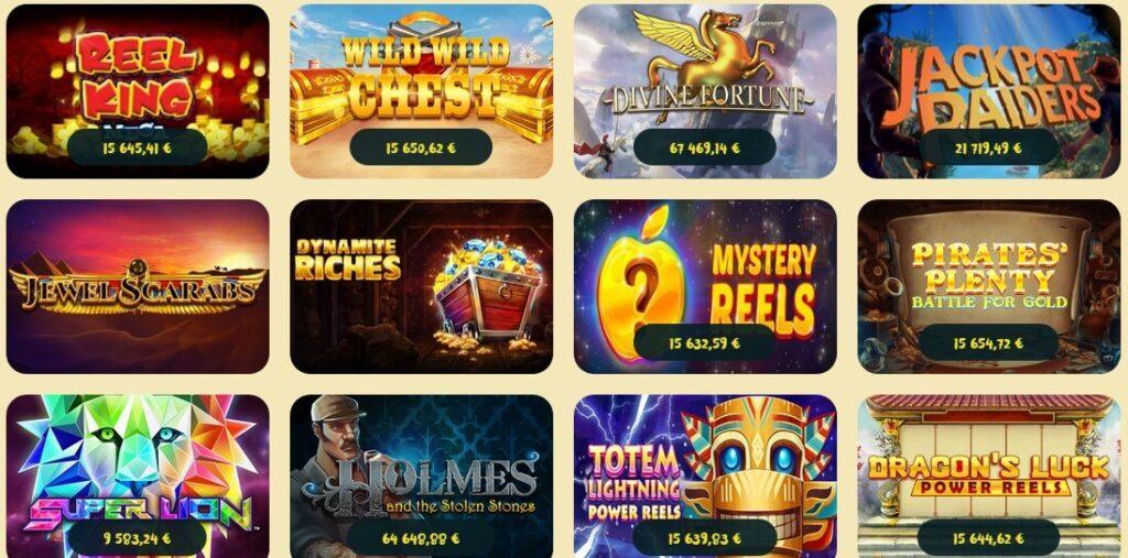 casoola casinon jackpotit