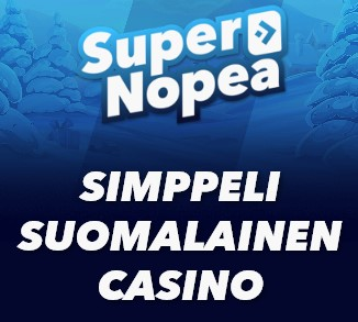 supernopea kasino mainos