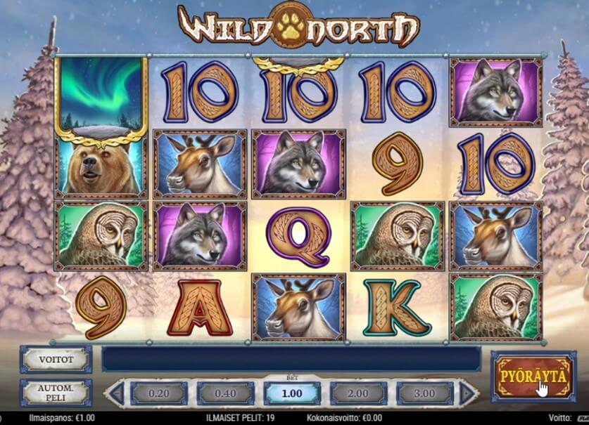 boost casino ilmaiskierrokset Wild North