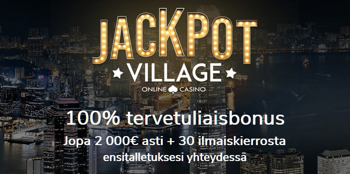 jackpot village casinon bonus