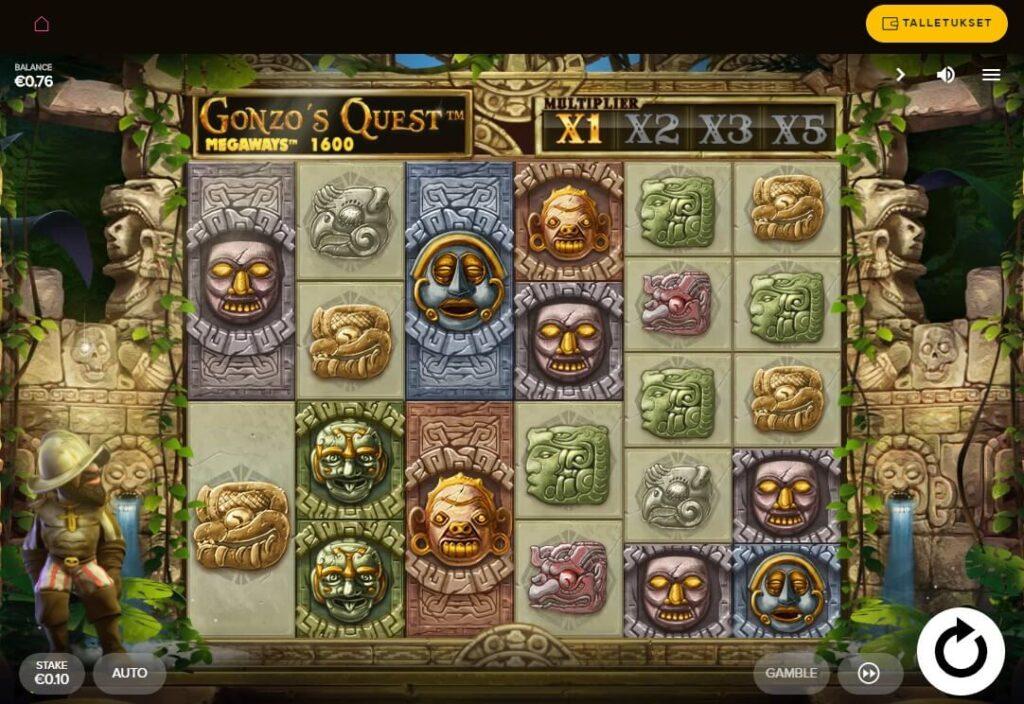 gonzos quest megaways gogo casinolla