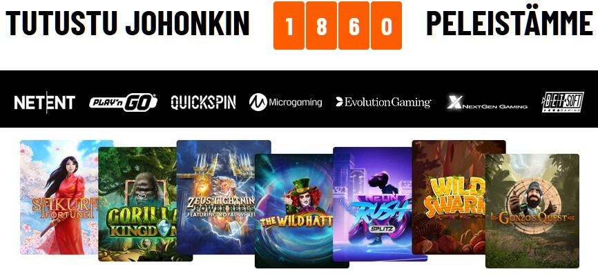 kazoom casinon kolikkopelit
