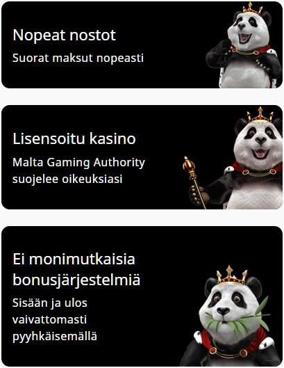 royal panda casinon tarjoukset