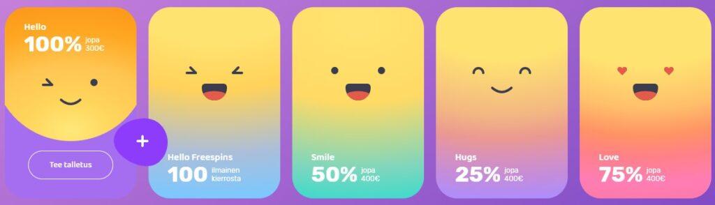 emojino casinon bonus