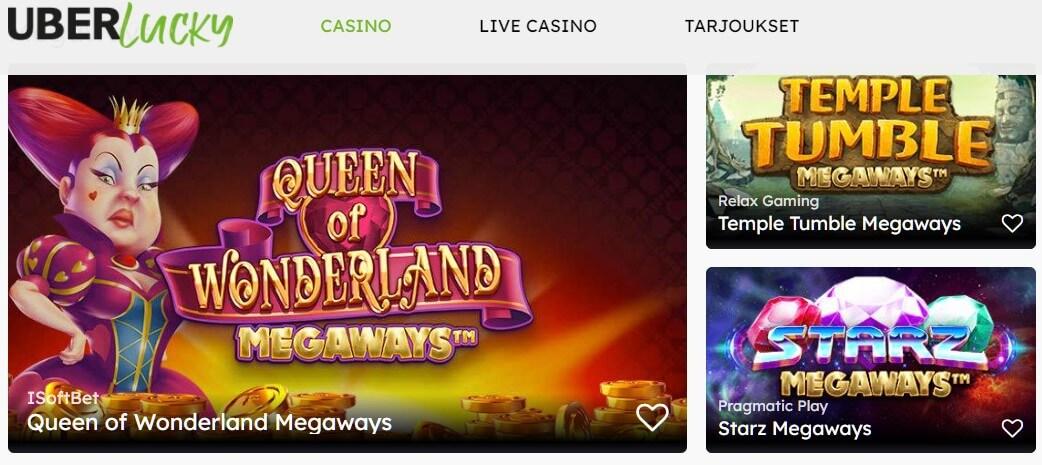 uberlucky casino