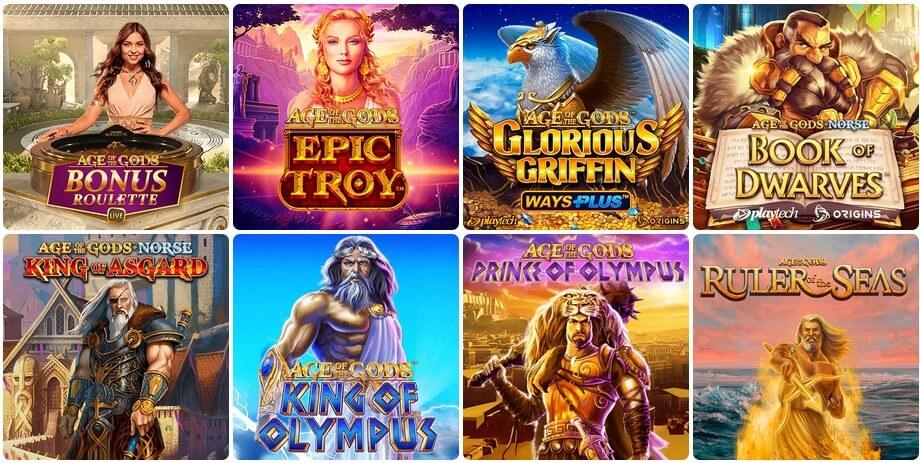 age of gods evospin casinolla