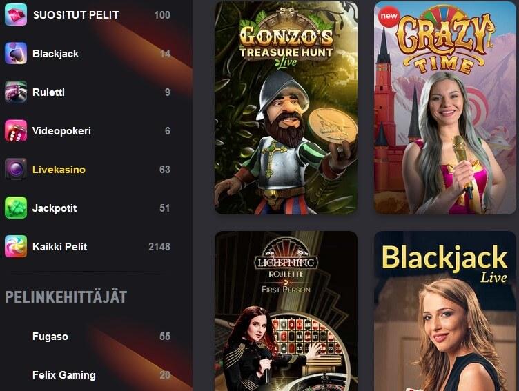 fezbet casino pelit