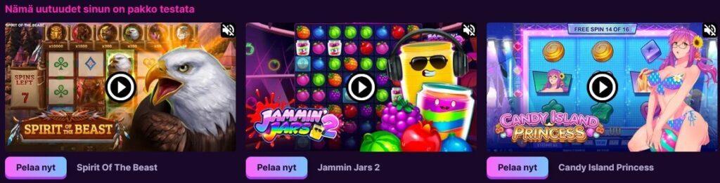 kanuuna casino uudet pelit