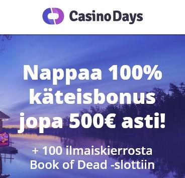 kasino bonus ilman rekisteröitymistä